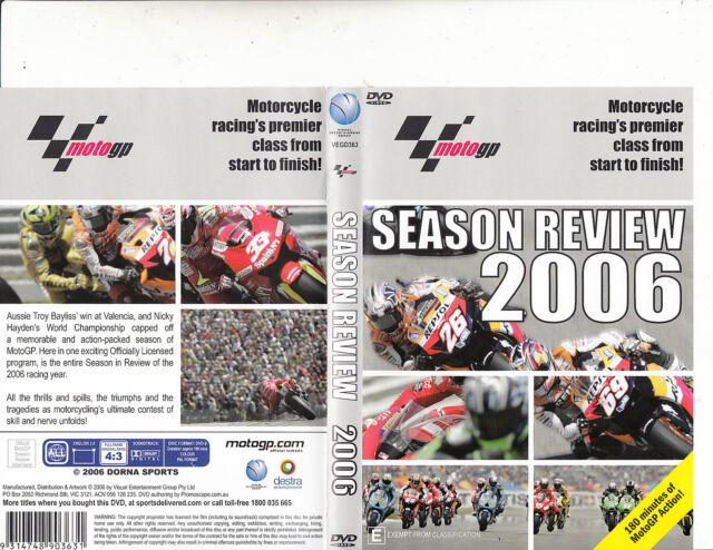 MotoGP Season Review 2006-Motorcycle Racing's Premier-Motor Bike GP-DVD