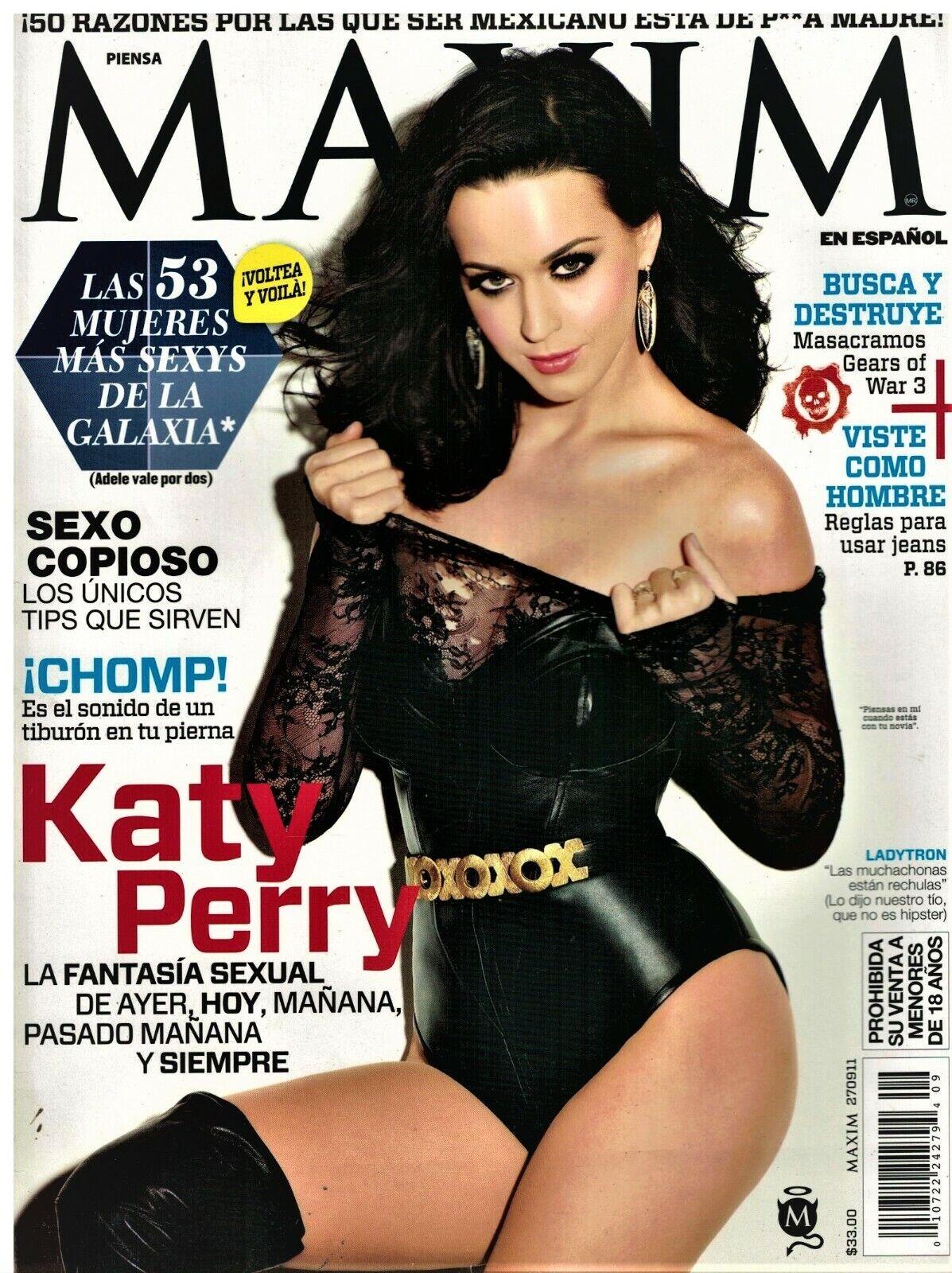 Angelique Boyer Maxim katy perry - maxim en español