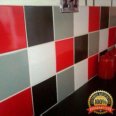 Vinyl Tile Stickers Kitchen Bathroom