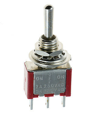 On/Off/On Mini Miniature Toggle Switch Car Dash SPDT