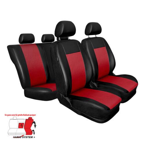 Skoda Rapid Rot Universal Sitzbezüge Sitzbezug Auto Schonbezüge COMFORT