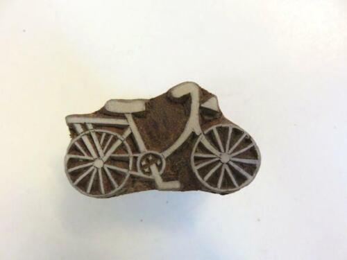 1802 Holz Stempel Fahrrad Textil Stempel Henna Stempel Deko Tattoo Nr