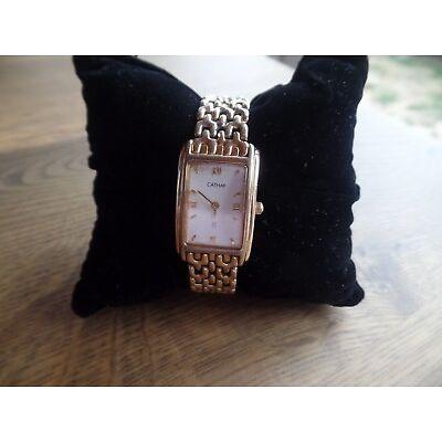 Damen Armbanduhr , von Cathay, goldfarbig
