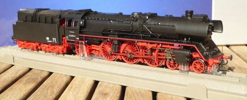 Roco 72205 Express Train Steam Locomotive Br 03 0058-2 Oil Dr Ep.4 Plux16 Dss