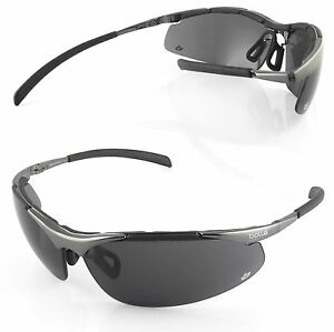 conduite Bollé soleil Métal de Contour noir verres lunettes fumés ZapPaIwrqx