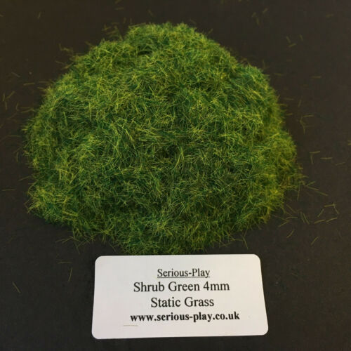 Model Scenery Warhammer Railway leaf Serious-Play Shrub Green Static Grass 4mm