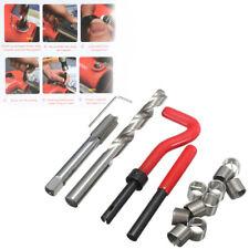 15 Pièces Helicoil Thread Repair Kit M14 x 1.5 X 12.4 mm Garage Atelier Outil