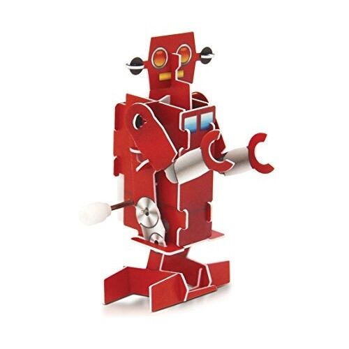 Stocking Filler Toy Novelty Kids Party Birthday Make Your Own Wind Up Robot