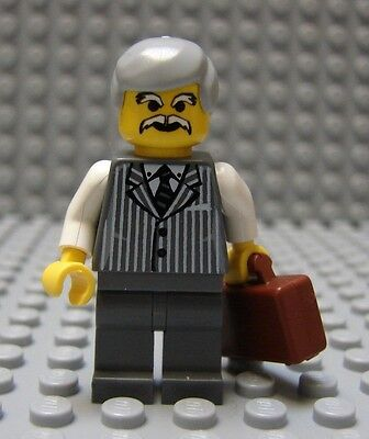 LEGO Grandfather Older Gentleman Grandpa Lawyer Realtor Businessman Boss Manager