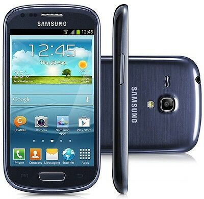 New Samsung Galaxy S 3 Mini I8190 - 8GB - Blue (Unlocked) Smartphone