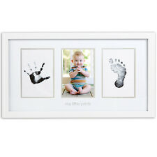 NEW Pearhead No-Mess Baby Hand And Foot Prints With Photograph Picture Frame