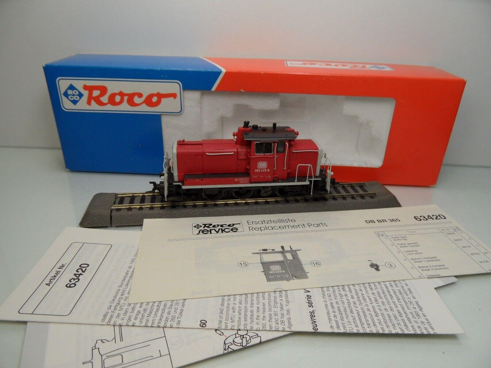 Roco 63420 - H0 - DB - Diesellok 365 425-8 - Digital - OVP -