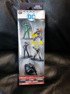 DC-Diecast-Nano-metalfigs-Batman-les-chauves-souris-Catwoman-Black-Canary-le-Riddler