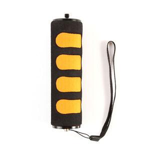 """1/4"""" Screw Sponge Handle Holder Grip For DSLR Camera Video Camcoder LED GoPro 4"""