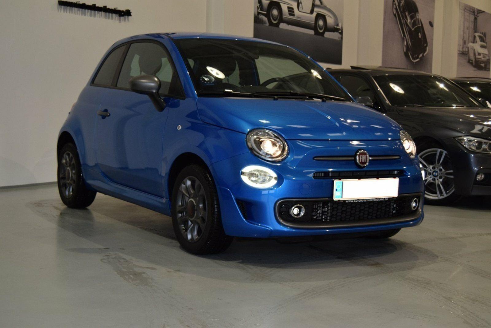 Fiat 500 0,9 TwinAir 80 Sportiva 3d - 109.900 kr.