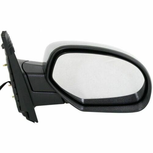 New Set of 2 LH /& RH Side Power Mirror Chrome For GMC Sierra 1500 2007-2013