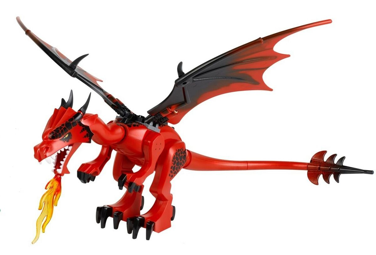 LEGO 70403 - Castle - rot Dragon   Complete Assembly - Mini Figure