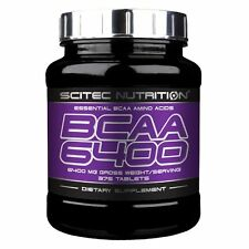 BCAA 6400 375 tabs Scitec Nutrition Musculation Fitness Prise de Masse