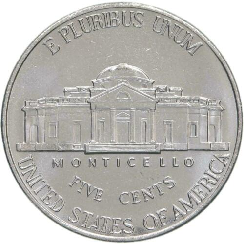 2001 P Jefferson Nickel BU