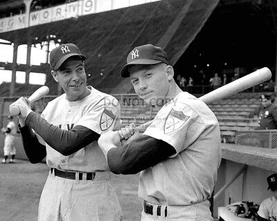 CASEY STENGEL AND JOE DIMAGGIO YANKEES LEGENDS WHAT A GREAT 8x10