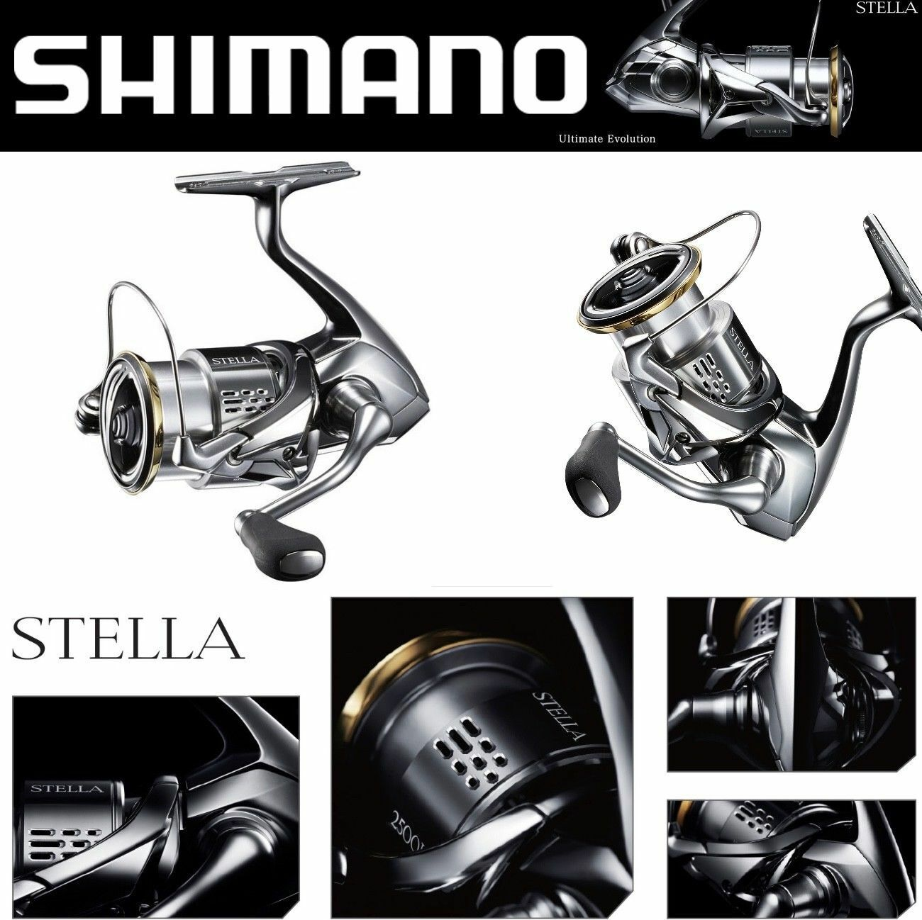 Shimano Ultimate Spinning Cocheretes Stella FJ