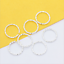 100p-Gold-Silver-Plated-Twisted-Open-Round-Ring-Jumprings-Connector-Craft-8-20mm thumbnail 9