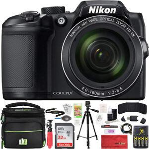 Nikon-COOLPIX-B500-40x-Optical-Zoom-Digital-Camera-w-Built-in-Wi-Fi-32GB-Bundle