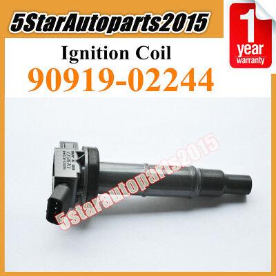 4x Denso 90919-02244 Ignition Coils for Toyota Camry Highlander RAV4 Lexus Scion