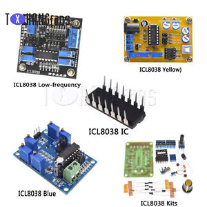 Details about ICL8038 Function Signal Generator IC DIY Sine Square Triangle  Wave DDS ATF