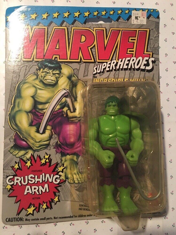 TAS040365 - 1993 1993 1993 Toy Biz Marvel Super Heroes Action Figure - Incredible Hulk cdb848