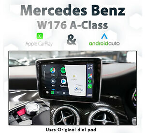 Mercedes-Benz-W176-A-Class-2013-2015-Apple-CarPlay-amp-Android-Auto-Integration