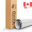 White-3D-Carbon-Fiber-Vinyl-Wrap-Roll-with-VViViD-XPO-Air-Release-Technology miniature 1