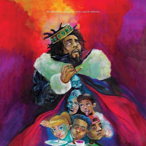 J Cole K.O.D Album Cover Wall Hot Poster 16x16 24x24 30 American Rapper Y37