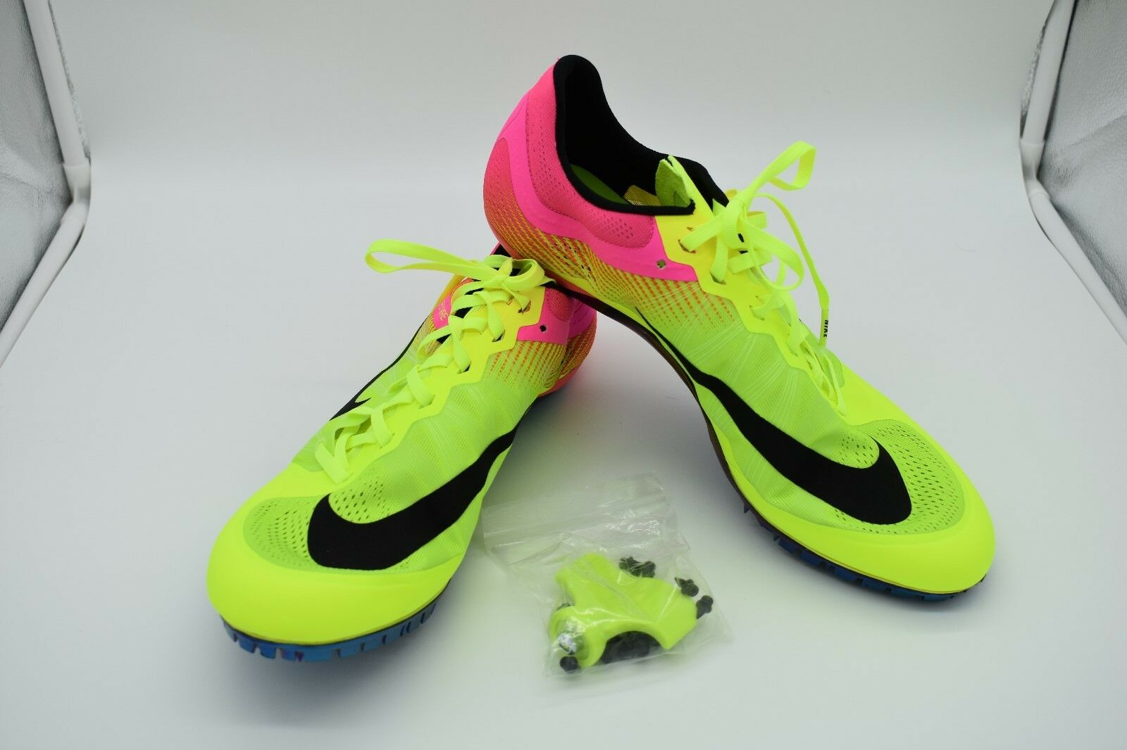 Nike Zoom JA Fly 2 Men's Track Spikes 705373-999 Volt Pink Comfortable best-selling model of the brand