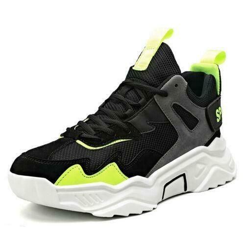 Mens Breathable Running Shoes Sports Athletic Sneakers Casual Trainers Walking D