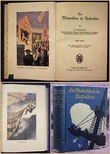 Woerrishoeffer-Ein-Wiedersehen-in-Australien-1930-Geografie-Landeskunde-Reise-sf
