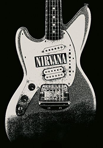 Nirvana - Jag Stang Textile Poster Flag 75x110cm HEART ROCK