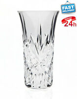 Vintage Crystal Vodka Shooters Set Of 6 Drinking Shot Glass Collection Hip Party