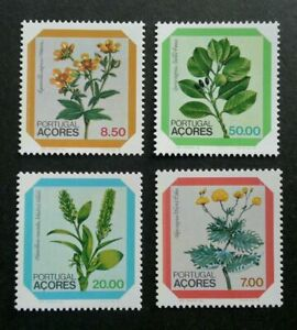 SJ-Portugal-Flowers-1981-Flora-Plants-stamp-MNH