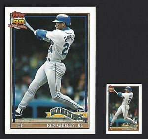 1991-KEN-GRIFFEY-JR-TOPPS-40-YEARS-OF-BASEBALL-CARDS-790-now-including-MINI
