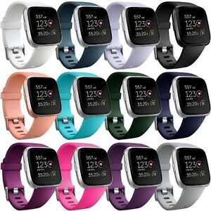 Replacement-Silicone-Rubber-Classic-Band-Strap-Wristband-For-Fitbit-Versa-Watch