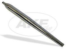 Auspuff Spatz SR4-1, 660mm lang, Endstück schräg - 2. Qualität! für Simson SR2 K