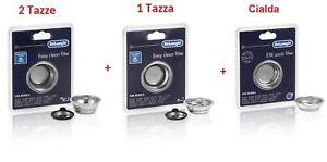 DELONGHI-Kit-Filtri-1-Tazza-2-Tazze-Cialde-Per-Macchina-Caffe-Dedica-Scultura