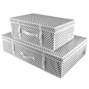 Hangerworld Cajas Almacenaje Proteccion Ropa Blanco Equipaje Mano