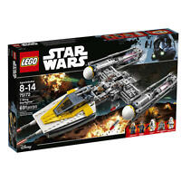 LEGO Star Wars Vader's TIE Advanced vs. A-Wing Starfighter (75150) Toys