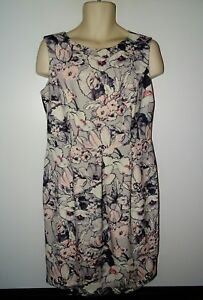 Laura-Ashley-joli-double-Pastel-Floral-Robe-Wiggle-Crayon-Style-UK-16