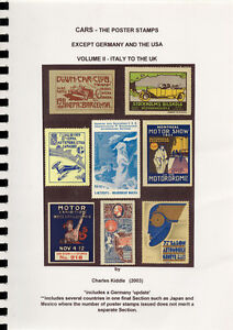 I-B-CK-Cinderella-Catalogue-Poster-Stamps-Cars-Volume-II