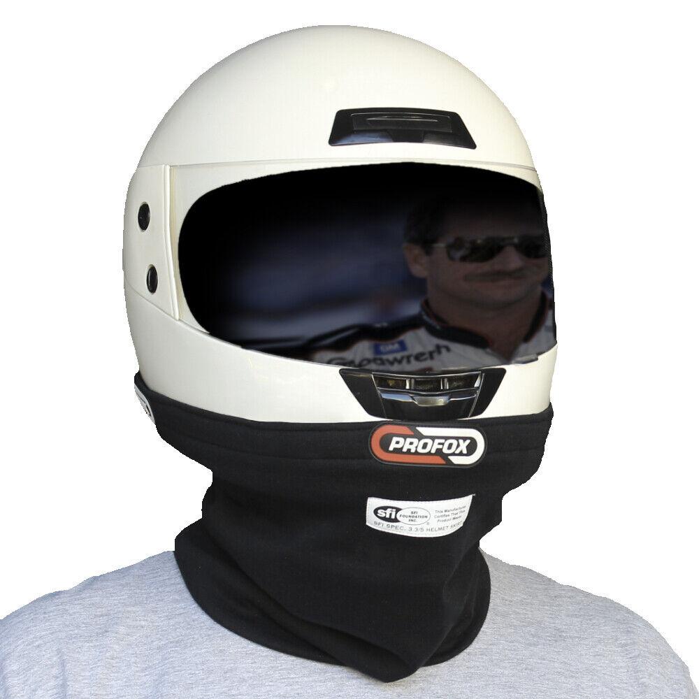 PROFOX RACING Helmet Skirt Fire Resistant Nomex SFI 3.3 5 Certified