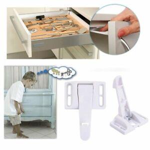 10 Pcs Kids Baby Schrankschutz Schubladenschutz Kindersicherung Schranksicherung Ebay