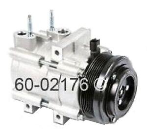 Rebuilt Auto Ac Compressors >> Details About 06 2011 Crown Vic Marquis Town Car Ac Compressor With Clutch Rebuilt